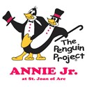 Annie Jr. Penguin Project Logo