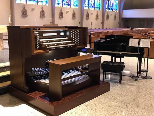 organ console 3
